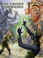 The Crown Commands: Battle Scenes for Four Icons, includes Map Folio