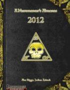 A Necromancer's Almanac: 2012