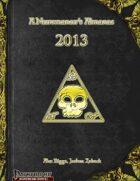 A Necromancer's Almanac: 2013