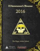 A Necromancer's Almanac: 2016
