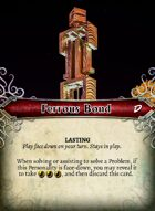 Ferrous Bond - Custom Card