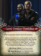 Lord Prelan Tevidian - Custom Card
