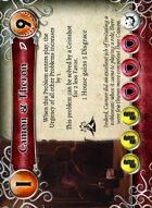 Camon & Theron - Custom Card