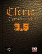 Cleric Character Portfolio 3.5