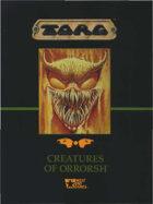 Torg: Creatures of Orrorsh