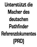 Drittanbieter – Deutsches Pathfinder Referenzdokument (PRD) unterstützen