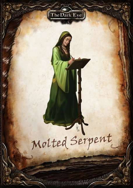 The Dark Eye - The Molted Serpent