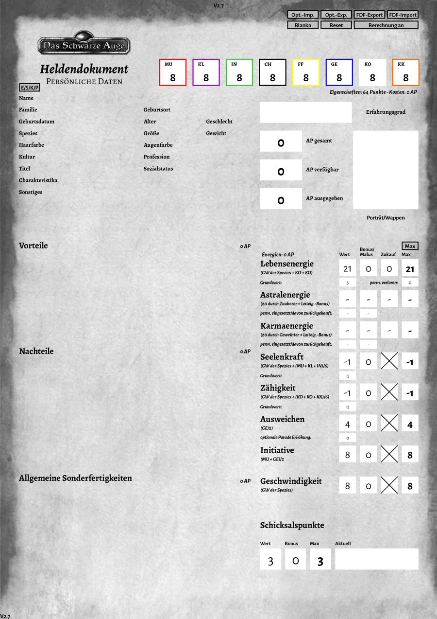 Selbstrechnende Dokumente