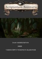 Das Geheimnis Der Verschwundenen Baronie