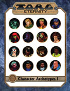 Torg Eternity - GM Screen and Archetypes