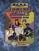Torg Eternity: Freelancer Dynamics Campaignbook