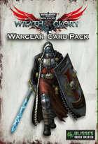Wrath & Glory - Wargear Card Pack