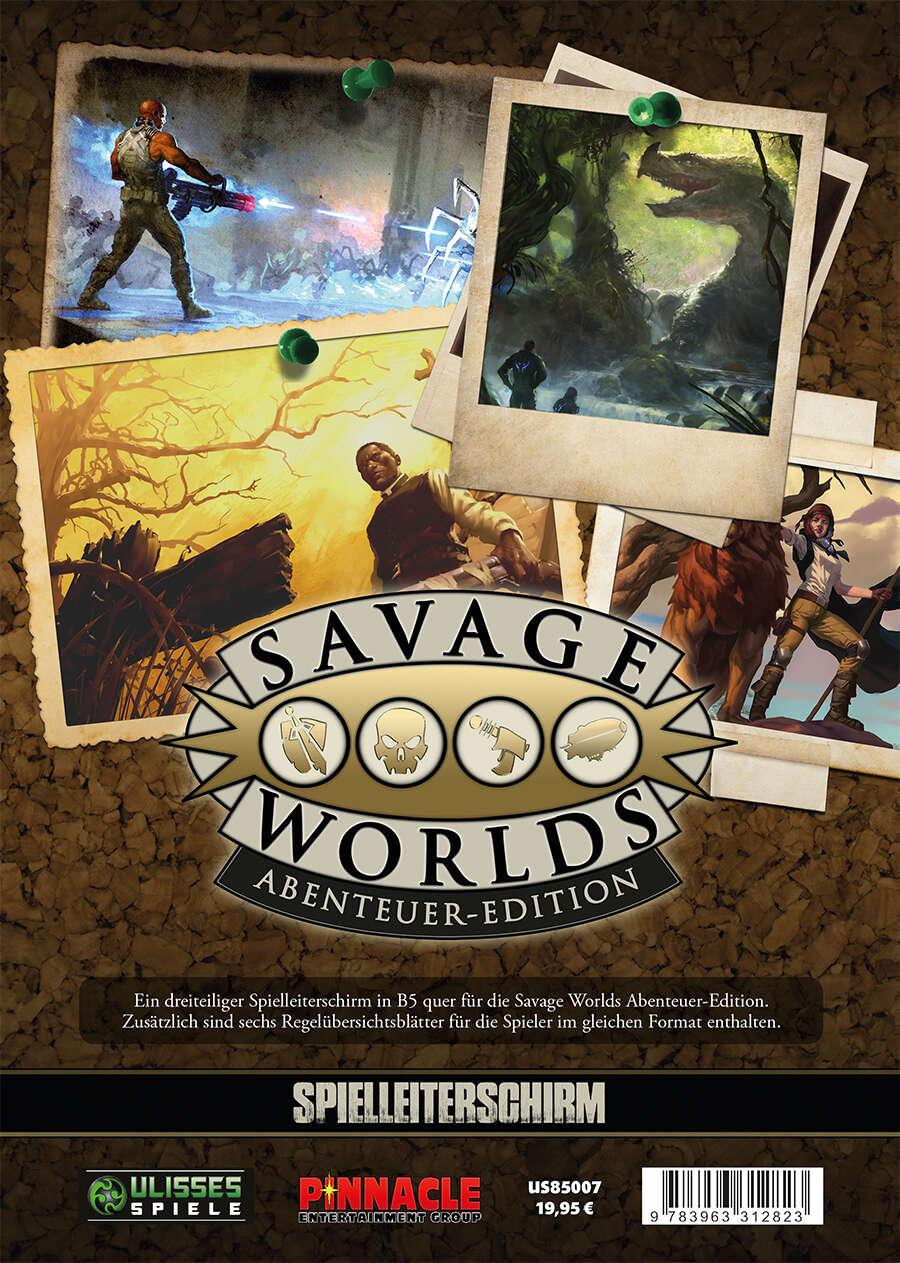 Savage Worlds Spielleiterschirm (PDF) als Download kaufen