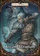 Arcum Scriptum - Alternative Bogenregeln