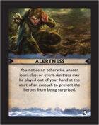 Torg Eternity - Destiny Card - Alertness 9