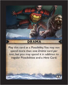 Torg Eternity - Destiny Card - Drama 46