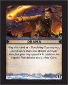 Torg Eternity - Destiny Card - Drama 48