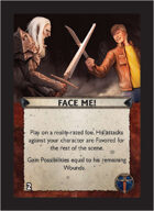 Torg Eternity - Aysle Cosm Card - Face Me!