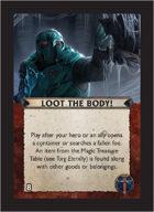 Torg Eternity - Aysle Cosm Card - Loot the Body!