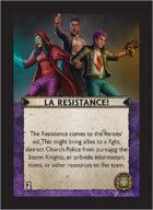 Torg Eternity - Cyberpapacy Cosm Card - La Resistance!