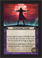 Torg Eternity - Cyberpapacy Cosm Card - Conjunction