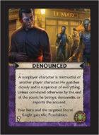 Torg Eternity - Cyberpapacy Cosm Card - Denounced
