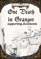One Death in Grangor - supplements