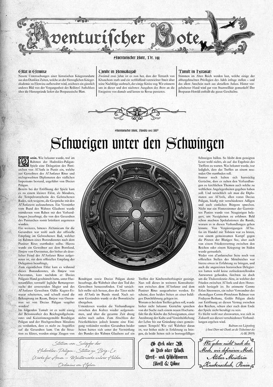 Aventurischer Bote #199 (PDF) herunterladen
