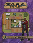 Torg Eternity - Cyberpapacy Map Pack 2