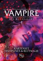 V5 - Vampire - Disziplins- und Blutmagiekarten (PDF) als Download kaufen