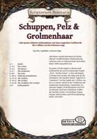 Schuppen, Pelz und Grolmenhaar - Acht (N)SC Spezies für DSA5