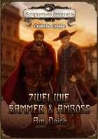 Zwei wie Hammer und Amboss   - Am Deich