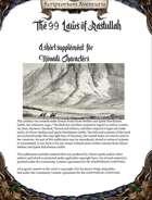 The 99 Laws of Rastullah