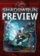Shadowrun 5 Grundregelwerk - Preview: Spielleiter-Hinweise