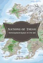 7te See Landkarte: Nations of Théah