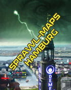 Shadowrun: Hamburg-Karten aus dem Datapuls: Hamburg