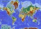 Shadowrun-Poster: Weltkarte - Almanach der Sechsten Welt