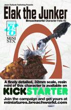 Breachworld Character Folio #2 - Elak the Junker