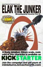 Breachworld Character Folio #2 - Elak the Junker (Savage Worlds)