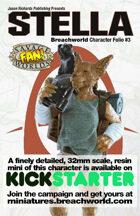Breachworld Character Folio #3 - Stella (Savage Worlds)