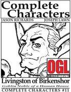 [d20] Complete Characters #11 - Livingston of Birkenshor