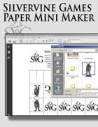 Silvervine Games Paper Mini Maker