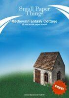 30mm Medieval Cottage