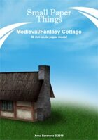 300mm Medieval/fantasy cottage