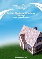 30mm British Medieval/Fantasy Cottage