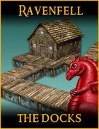 RAVENFELL: Docks & Crane