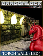 DRAGONLOCK Ultimate: Dungeon Torch Wall (LED)