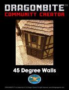 45 Degree Walls