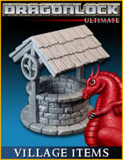 DRAGONLOCK Ultimate: Village Items