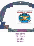 MASSIVE 24 Inch Round Scifi rooms